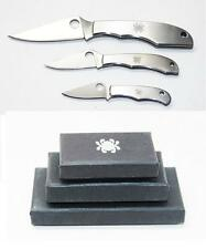 Spyderco Bug Set 3 Knives The Bug, Honeybee, Grasshopper C133P C137P & C138P