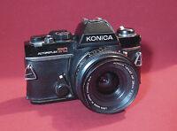 Vintage Konica Autoflex TC 35 mm SLR Camera for Parts or Repair.