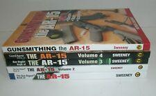 LOT of 6 AR-15 books * Volumes 1-4 + Gunsmithing + Customizing AR 15