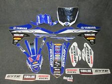 Yamaha YZF250 YZF450 2014-2017 Star Racing USA Team graphics + plastics GR031