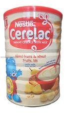 Nestle Cerelac Gemischt Früchte & Weizen mit Milch (400g von 8 Monate (4er