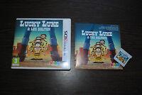 Jeu LUCKY LUKE & LES DALTON Complet (boite + notice) pour Nintendo 3DS