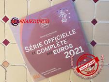 Coffret BU 1 Cent à 2 Euro France 2021 - Coffret Officiel