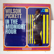 WILSON PICKETT-IN THE MIDNIGHT HOUR ON ATLANTIC SOUL LP-ORIGINAL VG++, MONO, IN