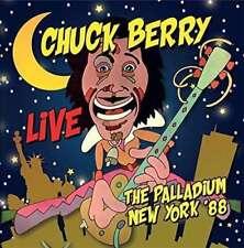 CHUCK BERRY - LIVE… Le Palladium New York '88 ( bleu foncé 180g vinyle en NEUF