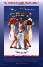 THE YOUNG GIRLS OF ROCHEFORT Movie POSTER 11x17 Catherine Deneuve Francoise