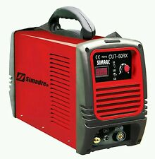 "PLASMA CUTTER POWER 50RX 50A 220V SINGLE VOLTAGE 1/2"" CLEAN CUT SIMADRE"