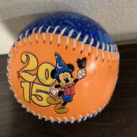 NEW Walt Disney World Parks 2015 Mickey Mouse Souvenir Collector Baseball