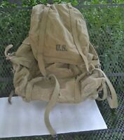RUCKSACK 10th MTN DIV US ARMY 1942 MEESE INC METAL FRAME