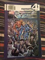 Fantastic Four 555 Modern Canadian Variant Millar Hitch [Marvel Comics]