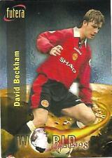 RARE DAVID BECKHAM MANCHESTER UNITED FUTERA ROOKIE TRADE CARD. No 75