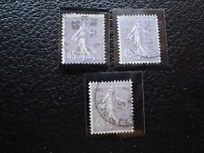 FRANCE - timbre yvert et tellier n° 197 x3 obl (L1) stamp french