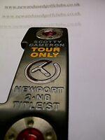 "SCOTTY CAMERON TOUR ONLY CIRCLE T NEWPORT 2 NOTCHBACK PUTTER 34.5"" -"