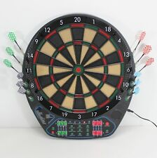 Elektronische Dartscheibe FULL SIZE LED   soft Dartboard Dart Spiel Pfeile 82895