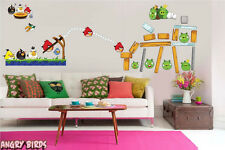 Giant Angry Birds Removable Wall Stickers
