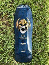 Powell Peralta Per Welinder Reissue Skateboard Deck Blue 2010