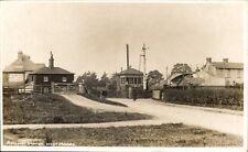 West Moors near Ferndown & Ringwood. Railway Station by R.B.Brown, Ringwood.