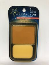 Max Factor Silk Perfection Cool Bronze #8 CARDED. NEW.