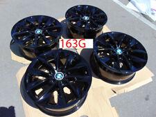 "18"" BMW X3 X4 OEM Factory BLACK Wheels Rim 163G"