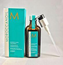 100% Authentic MOROCCANOIL Moroccan Oil treatment LIGHT 100ml 3.4 Oz