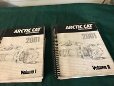 USED 2001 ARCTIC CAT SNOWMOBILE SERVICE MANUAL VOLUME 1&2 2256-347 2256-364