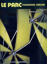 TANGERINE DREAM le parc  HOLLAND 1985  EX LP