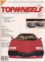 Top Wheels July 1989 Lamborghini Countach Nissan 300ZX 032720DBE