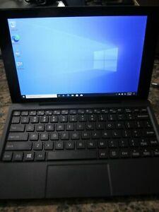 RCA W101 Convertible Tablet/Laptop Atom 1.33GHz 2GB 32GB SSD WIn 10 + 64GB SD
