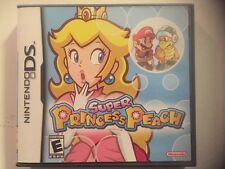 Super Princess Peach (Nintendo DS, 2006) Complete with Manual DSi 3DS 2DS Game