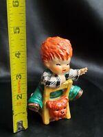 Goebel Charlot Byj23 Redhead Red Hair Figurine THE KIBITZER W Germany carrot top