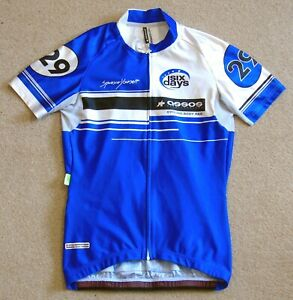 """NEAR-PERFECT CONDITION ASSOS 6 DAY JERSEY. SMALL 34-36"""" CHEST CIRCUMFERENCE"""