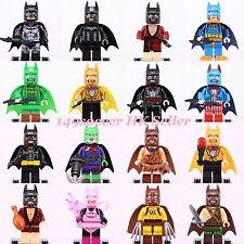 16PCS Mavel The Lego Batman Movie 's Superheroes Custom Made Lego Minifigures