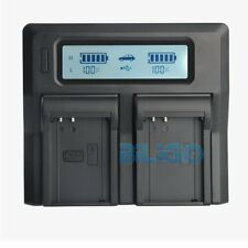 LCD Dual Channel BLN-1 Battery Charger For Olympus OMD M-5 E-M5 EM1 EM5 II E-M1
