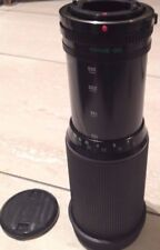 Canon Zoom Lens FD 100-300 mm.1:5.6 Lens Made Japan with Hard Case