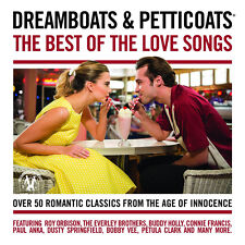 Dreamboats Petticoats Best Love Songs 53 Track Compilation CD 60s Pop