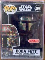 Funko POP Star Wars Boba Fett 297 Futura CAMO Target Exclusive Pop Hard Stack