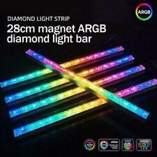 For COOLMOON Computer 5V/4PIN Aluminum RGB Color Light Light Magneti Strip N2K8