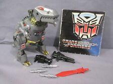 Transformers G1 Dinobot GRIMLOCK 100% Complete VINTAGE 1985 Hasbro