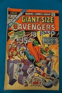 MARVEL COMICS AVENGERS #3 2/75 - VINTAGE (23) BRONZE AGE