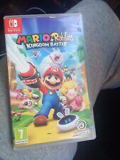 Mario Plus Rabbids Reino batalla (Nintendo Switch, 2017)