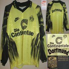 BORUSSIA DORTMUND NIKE Vintage 92-93 Maglia Football Shirt Camiseta Trikot M