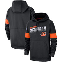 Cincinnati Bengals Fooball Hoodie Sweatshirt 100th Anniversary Pullover Coat