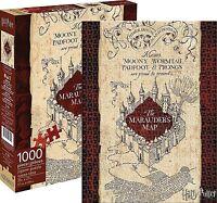 Harry Potter Marauders Map 1000 piece jigsaw puzzle 690mm x 510mm  (nm)