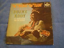 DUANE EDDY - THE TWANG'S THE THANG - 1960 LONDON LABEL LP- ROCK & ROLL GEM - VG+