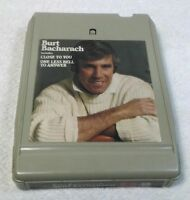 Burt Bacharach Self Titled Vintage 8 Track Tape Cartridge Tested