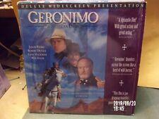 GERONIMO LASERDISC MOVIE DELUXE WIDESCREEN AN AMERICAN LEGEND