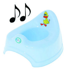 Potty Training - Musical Potty For Toddlers Easy To Clean - Duck (Blue)