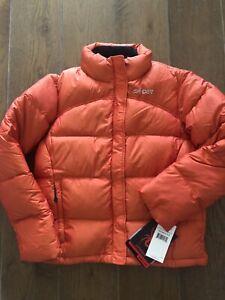 New! Spyder Womens Size 6 Ski/Snowboard Orange Outerwear Puffer Jacket