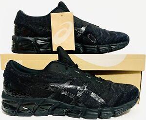 "ASICS Mens GEL-Quantum 180 5 ""Black-Out"" Shoes Sz(10) 1021A185-001 NIB"