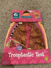 Brand New Groovy Girls scouts Trooptastic Tent Accessory For Dolls